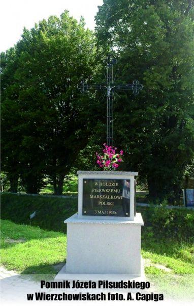 Pomnik-Jozefa-Pisudskiego-w-Wierzchowiskach-foto-A-Capiga